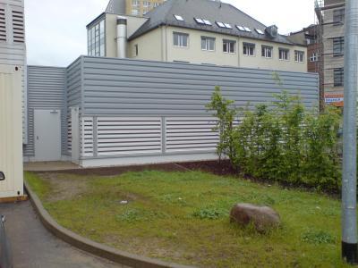 Kältezentrale Stahlbau